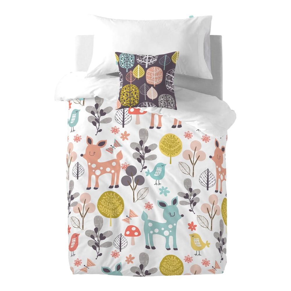 Detské bavlnené obliečky Moshi Moshi Woodland, 140 × 200 cm