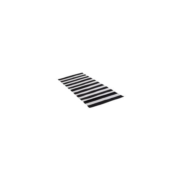 Koberec Tira 70x140 cm, čierny