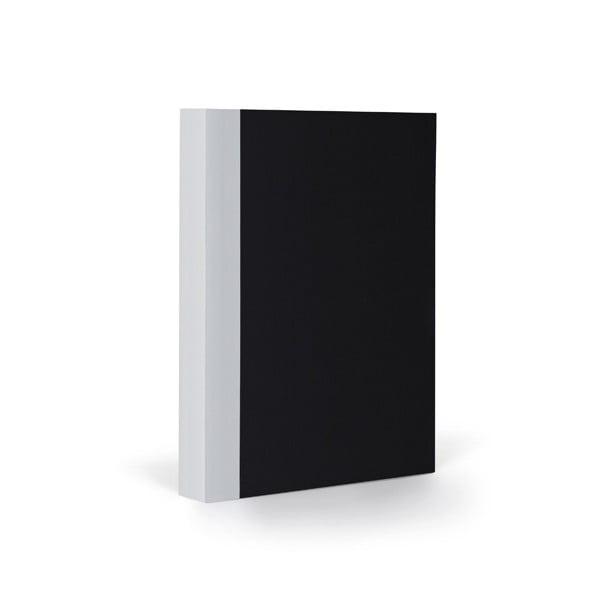 Zápisník FANTASTICPAPER A6 Black/Cool Grey, štvorčekový
