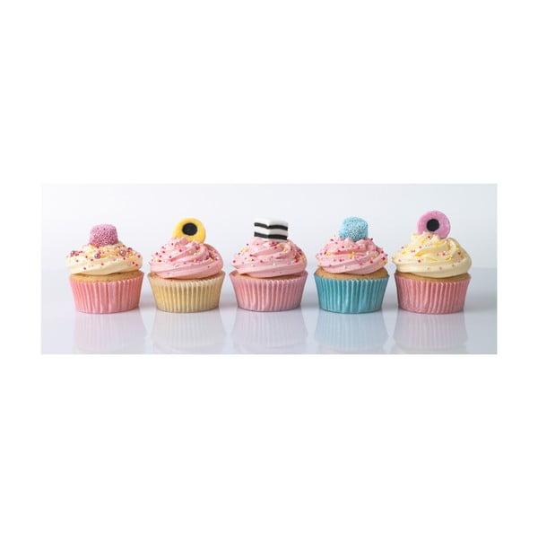 Obraz Cupcakes, 30x80 cm