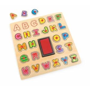 Drevená hračka Legler ABC Stamp & Puzzle