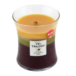 Vonná sviečka Woodwick Jesenné tradície, 60 hodín