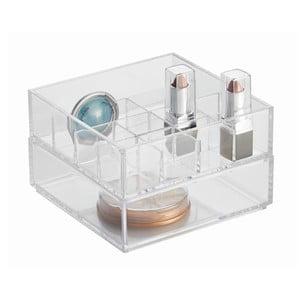 Úložný systém do kúpeľne Calrity, 15x15x9,5 cm