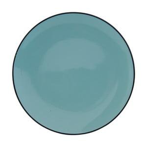Modrý tanier Clayre & Eef Countryside