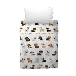 Detská obliečka na vankúš a prikrývka Mr. Fox Dogs, 120×180cm