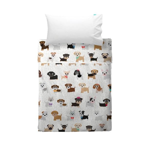Detská obliečka na vankúš a prikrývka Mr. Fox Dogs, 120x180cm