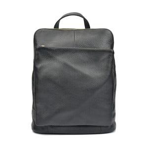 Čierny kožený batoh Isabella Rhea Cecilia