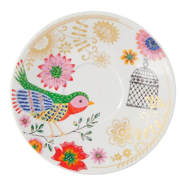 Sada 4 porcelánových hrnčekov Envol
