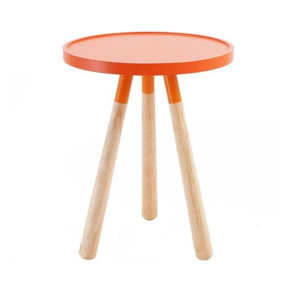 Stolík Orbit Orange