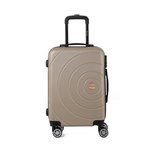 Sada 3 béžových cestovných kufrov Berenice Circle