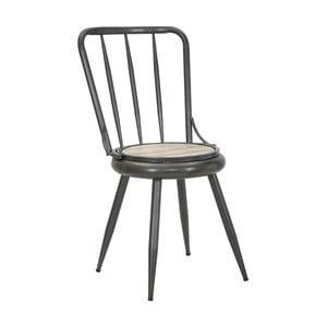 Tmavosivá stolička Mauro Ferrettii Berlin