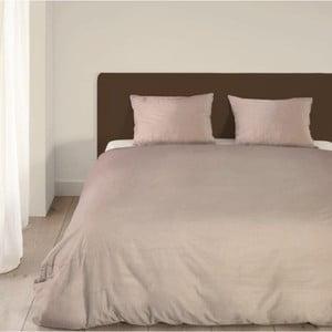 Béžové posteľné obliečky Emotion Brilla, 140×220 cm