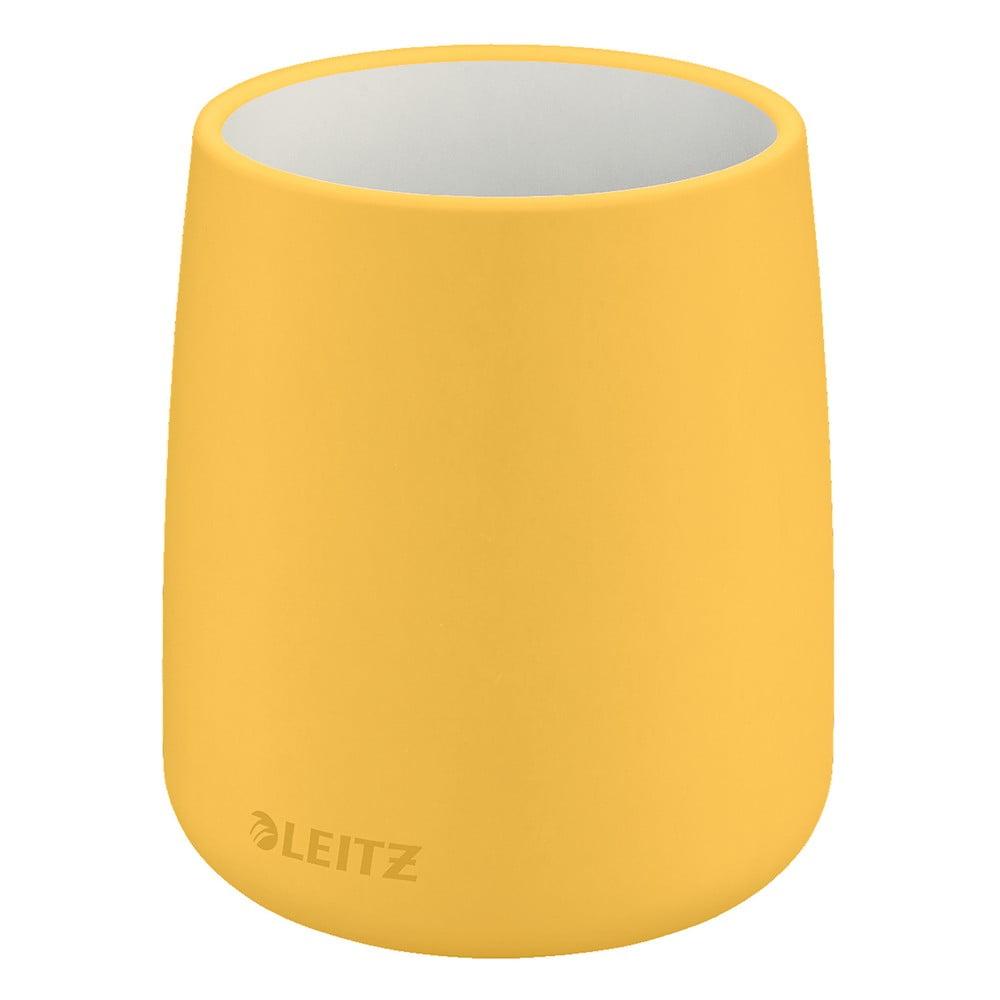 Žltý keramický téglik na ceruzky Leitz Cosy