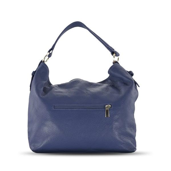 Kožená kabelka Audrey, modrá