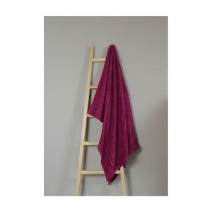 Fuksiový bavlnený uterák My Home Plus Bath, 100×150 cm