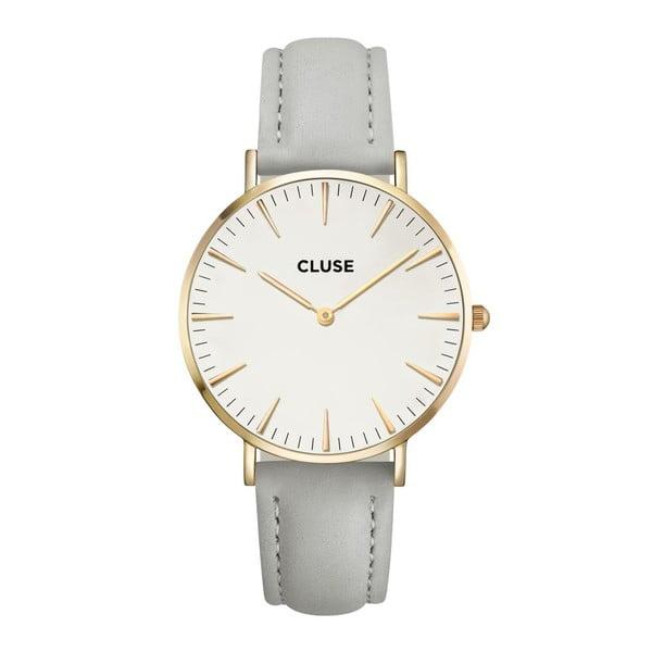 Hodinky Cluse La Bohéme Gold White/Grey