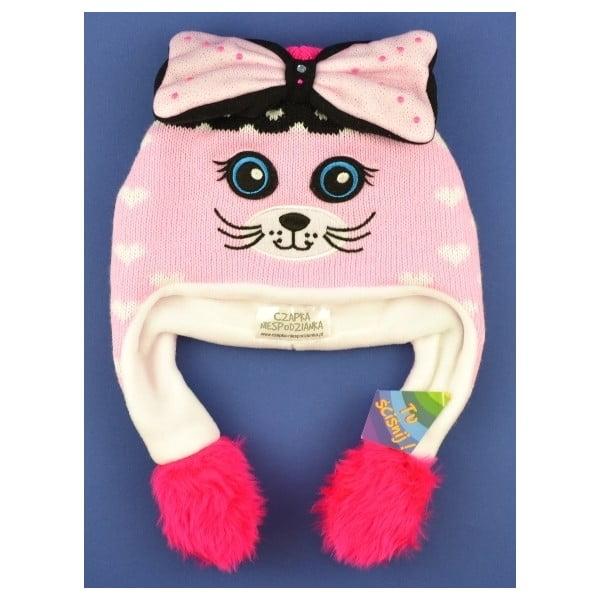 Dievčenská čapica Kitty