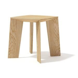 Konferenčný stolík z masívneho dubového dreva Javorina Tin Tin, 35 cm