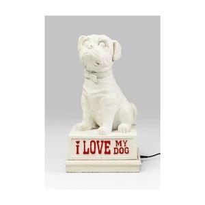 Stolové dekoratívne LED osvetlenie Kare Design My Dog