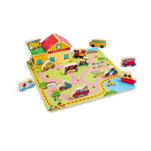 Drevená hračka Legler Traffic