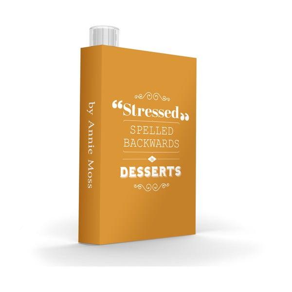 Skladná fľaša My Discreet Stressed, 475 ml