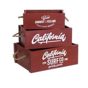 Set 3 krabičiek California