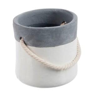 Kvetináč Grey Rope S