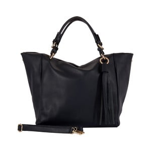 Tmavomodrá kabelka z pravej kože Andrea Cardone Dark Star
