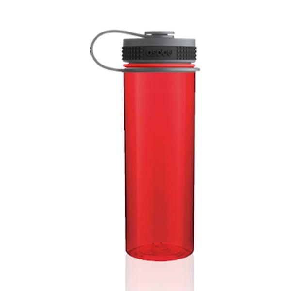 Športová fľaša Pinnacle, červená