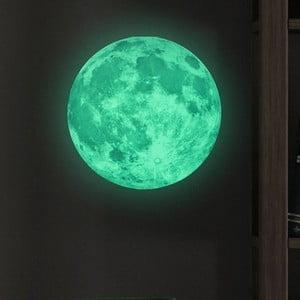 Samolepka svietiaca v tme Ambiance Real Moon