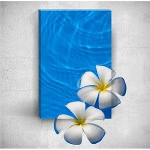 Nástenný 3D obraz Mosticx Flowers In Water, 40×60 cm