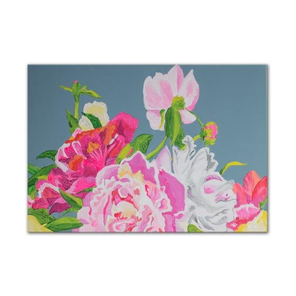 Obraz Peonies Flowers I, 50x70 cm