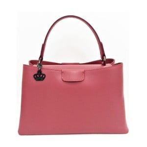 Kožená kabelka Numa Pink
