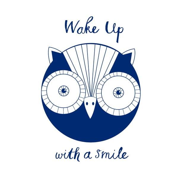 Obliečka na vankúš Wake Up Owl, 52x72 cm