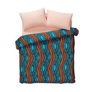 Sada obliečok a plachty Ethnic Blue, 200x220 cm