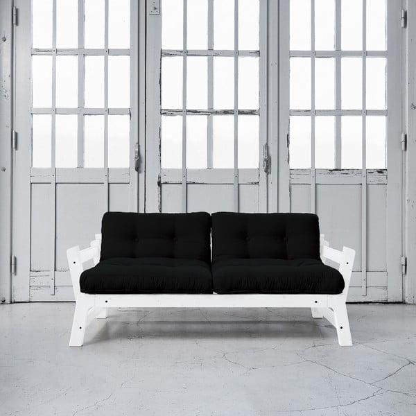 Rozkladacia pohovka Karup Step White/Black