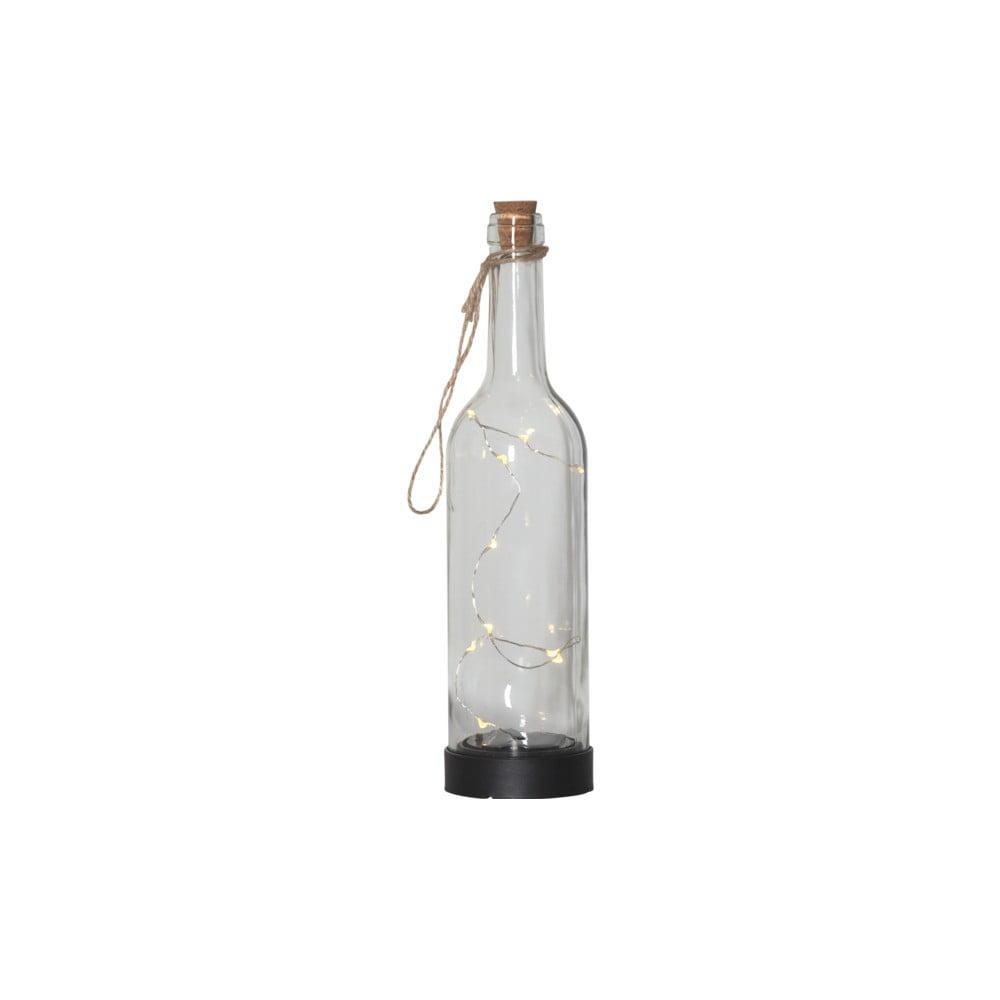 Vonkajšie solárne LED svietidlo v tvare fľaše Best Season Bottle