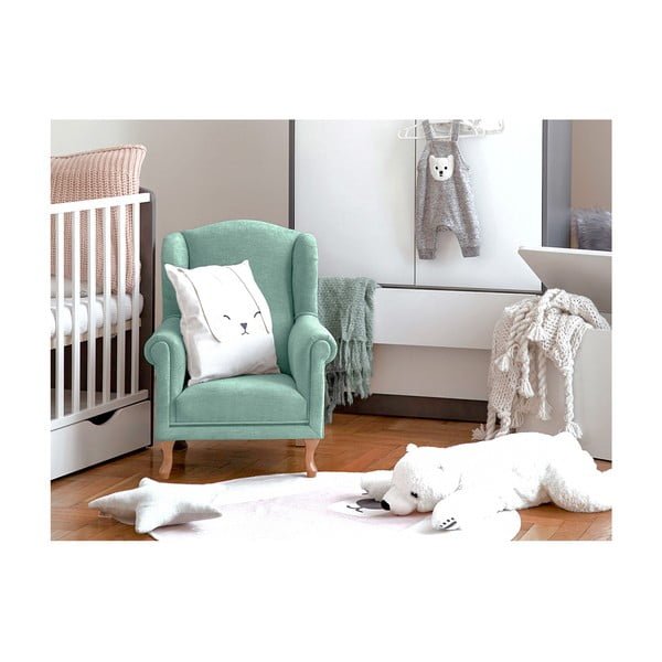 Mintovozelené detské kresielko KICOTI Comfort