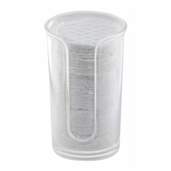 Set zásobníka a odličovacích tampónov InterDesign Clarity