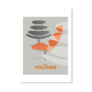 Autorský plagát Poul Volther