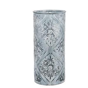 Lampáš Cylinder Print Blue, 24 cm