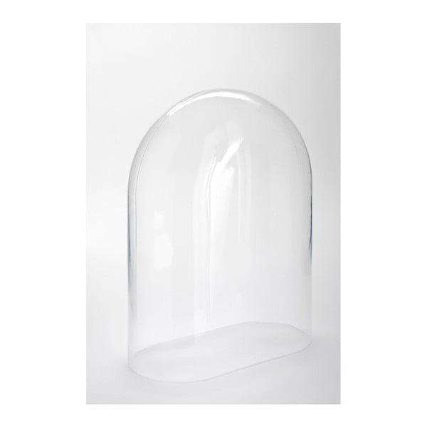 Sklenený poklop Oval, 30x15,5x40 cm