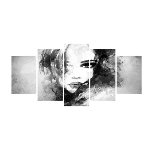 Viacdielny obraz Black&White no. 114, 100x50 cm