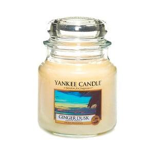 Vonná sviečka Yankee Candle Zázvorový Súmrak, doba horenia 65 - 90 hodín