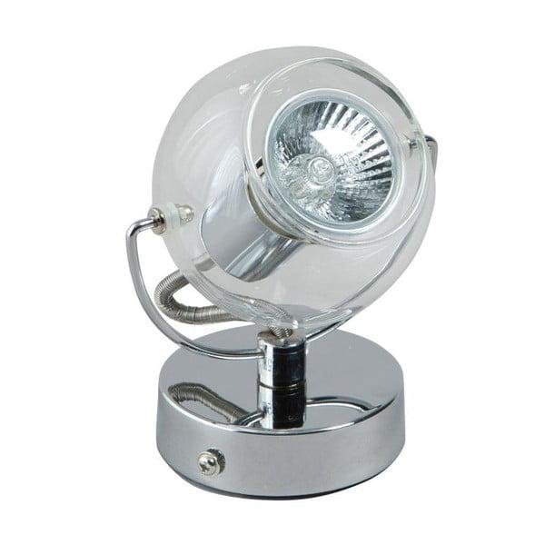 Stolná lampa Vetro Silver Single