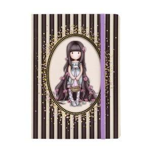 Poznámkový blok Gorjuss Notebook, 15 x 21 cm