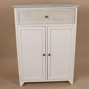 Drevená skrinka White Days, 62x87 cm