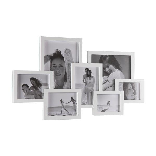 Biely nástenný fotorámik Tomasucci Collage