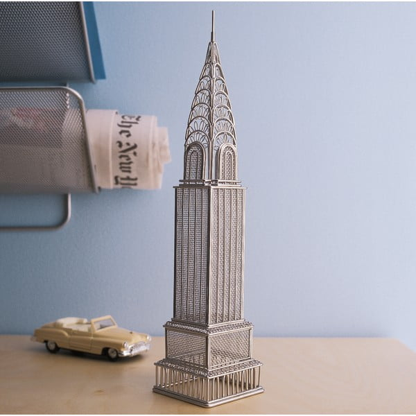 Dizajnová dekorácia Doodles Destination Chrysler Building