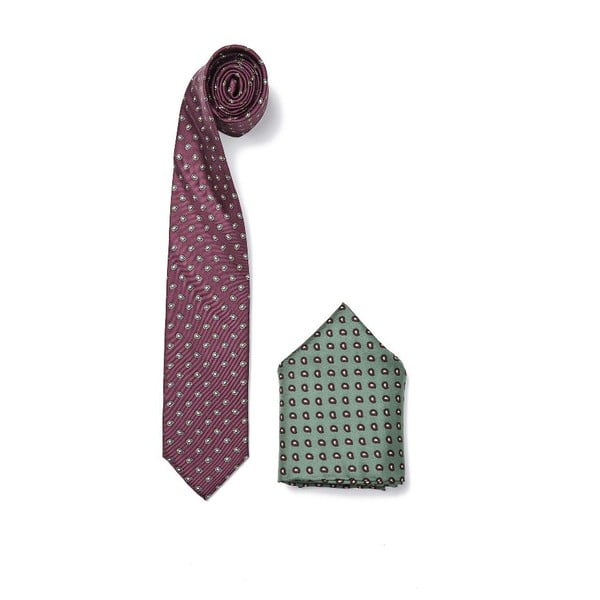 Set kravaty a vreckovky Ferruccio Laconi 3